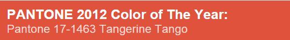 Pantone culori 2012